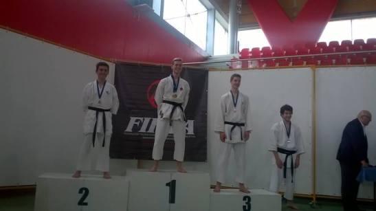 Campionati regionali (Veneto) 2016 1° class. Marco Nardelotto (Fukugo)
