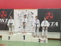 "Gara ""Karate kid"" Bassano del Grappa Enrico 3° class."