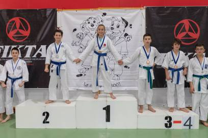 "Gara ""Karate kid"" Bassano del Grappa Diana 1° class."