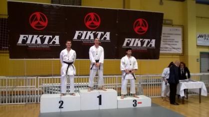 Marco Nardelotto 2° Class. (Kumite) cat. Juniores cinture nere 2^ Dan +70 Kg