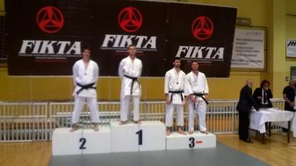 Marco Nardelotto 1° Class. (Fukugo) cat. Juniores+Seniores cinture nere 2^ Dan e oltre