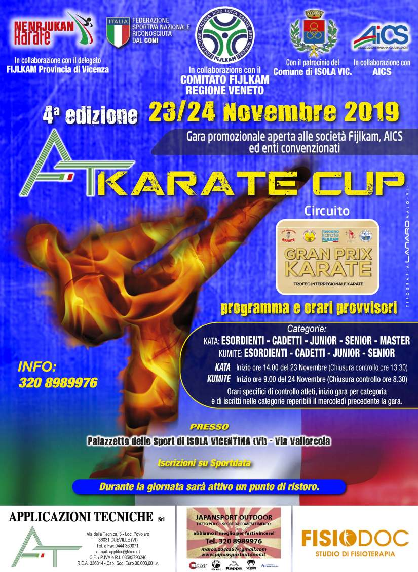 AT KARATE CUP 2019