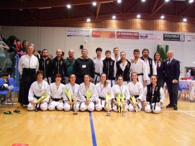 Team Veneto Con Sensei Hiroshi Shirai coppa shotokan